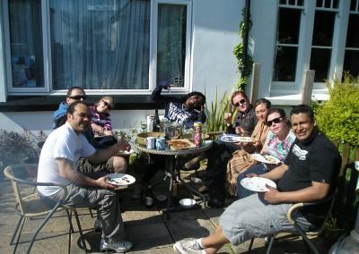 BBQ at Falmouth Lodge
