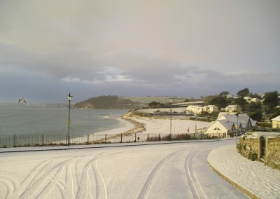 Falmouth in the snow